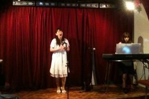 武田千宜さんによるオペラ歌唱と蓮沼与子さんによる伴奏