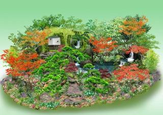 石原和幸特別展示ガーデン「Togenkyo」