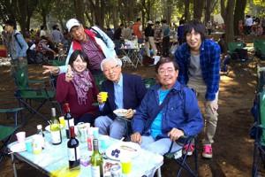 静岡県人会第3回バーベキュー in 小金井公園バーベキュー場