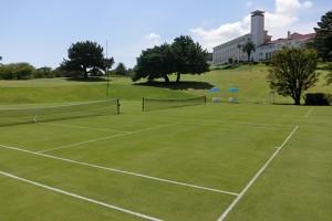 テニスコート(天然芝)