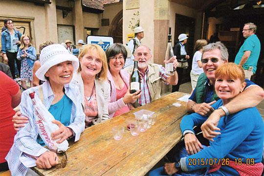 ミッテルバーグハイムのワイン祭