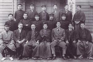 創学当時(大正6~7年)の学生団