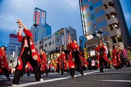 市民総踊り「夜桜乱舞」