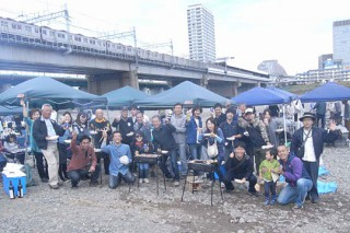 静岡県人会BBQ写真