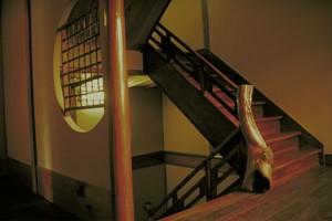東海館階段