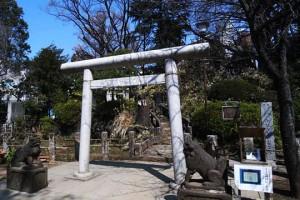 千駄ヶ谷の冨士塚