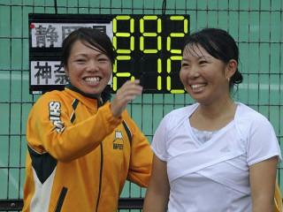 伊藤絵美子選手、木代緑選手