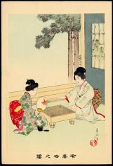 囲碁浮世絵
