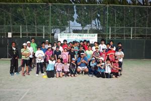 静岡県出身の元全日本チャンピオンによるテニスイベント