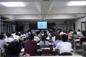 静岡大学農学部でお茶の講義