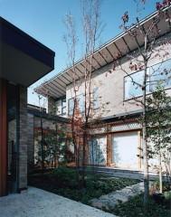 雑司ヶ谷の家・中庭