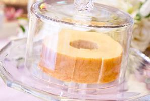 アルガナッティ配合のケーキ「アルガンバウム」