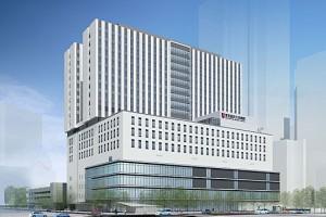 2019年完成予定の新大学病院