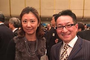 静岡市交流会にて春風亭昇太さんと