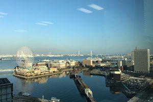オフィスからの眺望、桜木町