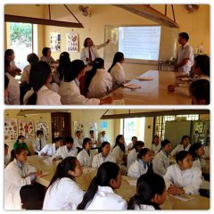 カンボジアでの環境教育