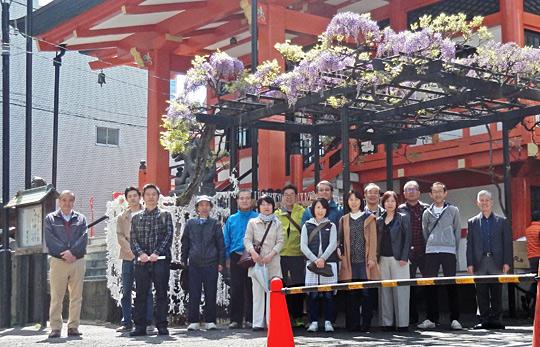 平成30年4月8日開催歩こう会の報告
