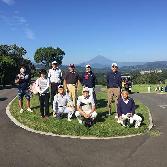 ゴルフ愛好会の開催報告