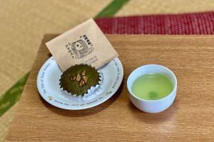 静岡市内の老舗の菓子店と茶舗がタッグを組んで、疫病退散を願う商品を開発